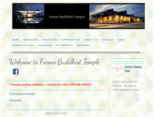 Tablet Preview of fresnobuddhisttemple.org